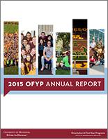 2015 OFYP Annual Report cover