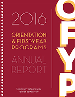 2016 OFYP Annual Report cover