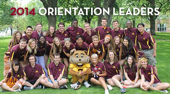 2014 Orientation Leaders