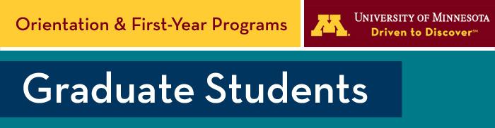 (please load images) Graduate Orientation email header