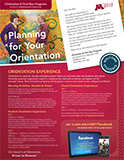 Planning for Your Orientation Newsletter