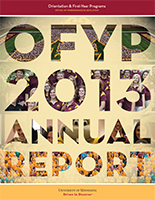 2013 OFYP Annual Report cover