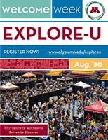 Explore-U mailer